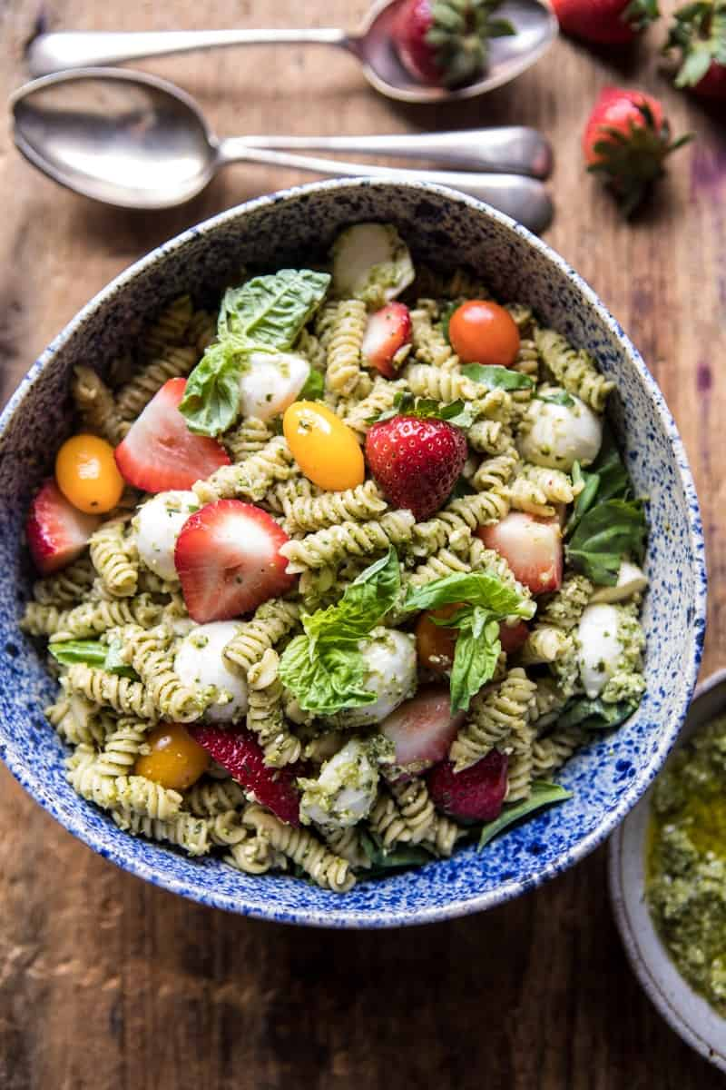 Strawberry Avocado Pesto Pasta Salad Halfbakedharvest Hbharvest