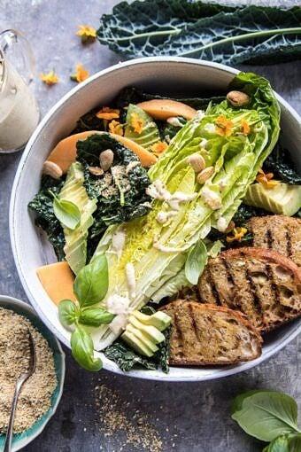 The New Vegan Caesar Salad | halfbakedharvest.com @hbharvest