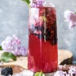 Blackberry Lilac Mojito.