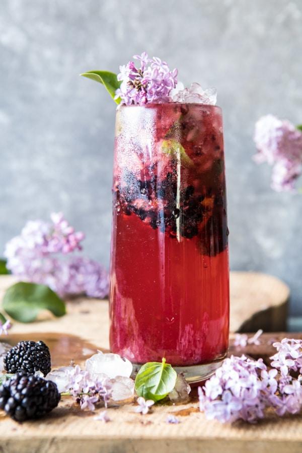 Blackberry Lilac Mojito   halfbakedharvest.com @hbharvest
