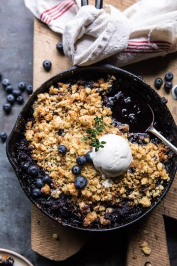 Blueberry Brown Betty.
