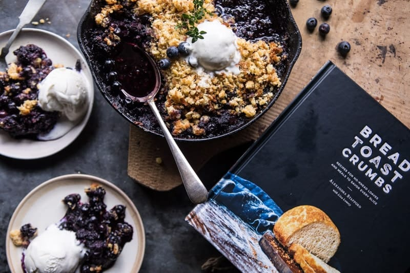 Blueberry Brown Betty | halfbakedharvest.com @hbharvest