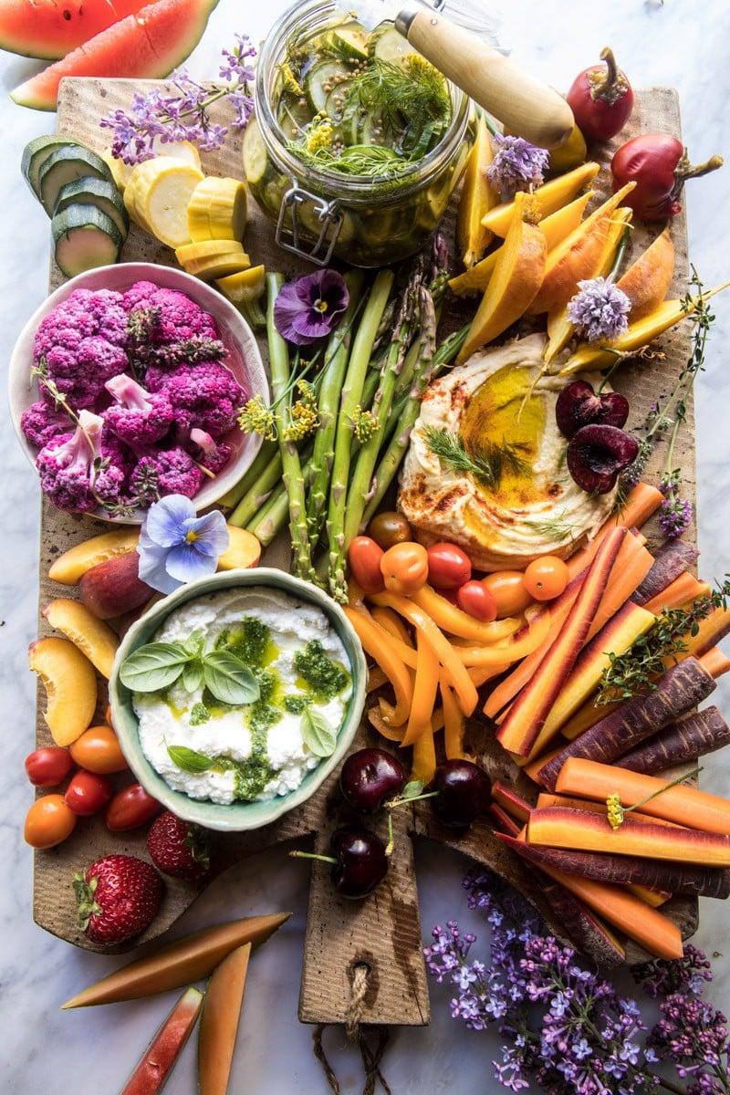Farmers Market Pickled Crudité Platter | halfbakedharvest.com @hbharvest