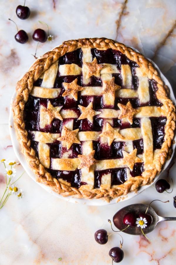 Mulled Cherry Bomb Pie   halfbakedharvest.com @hbharvest