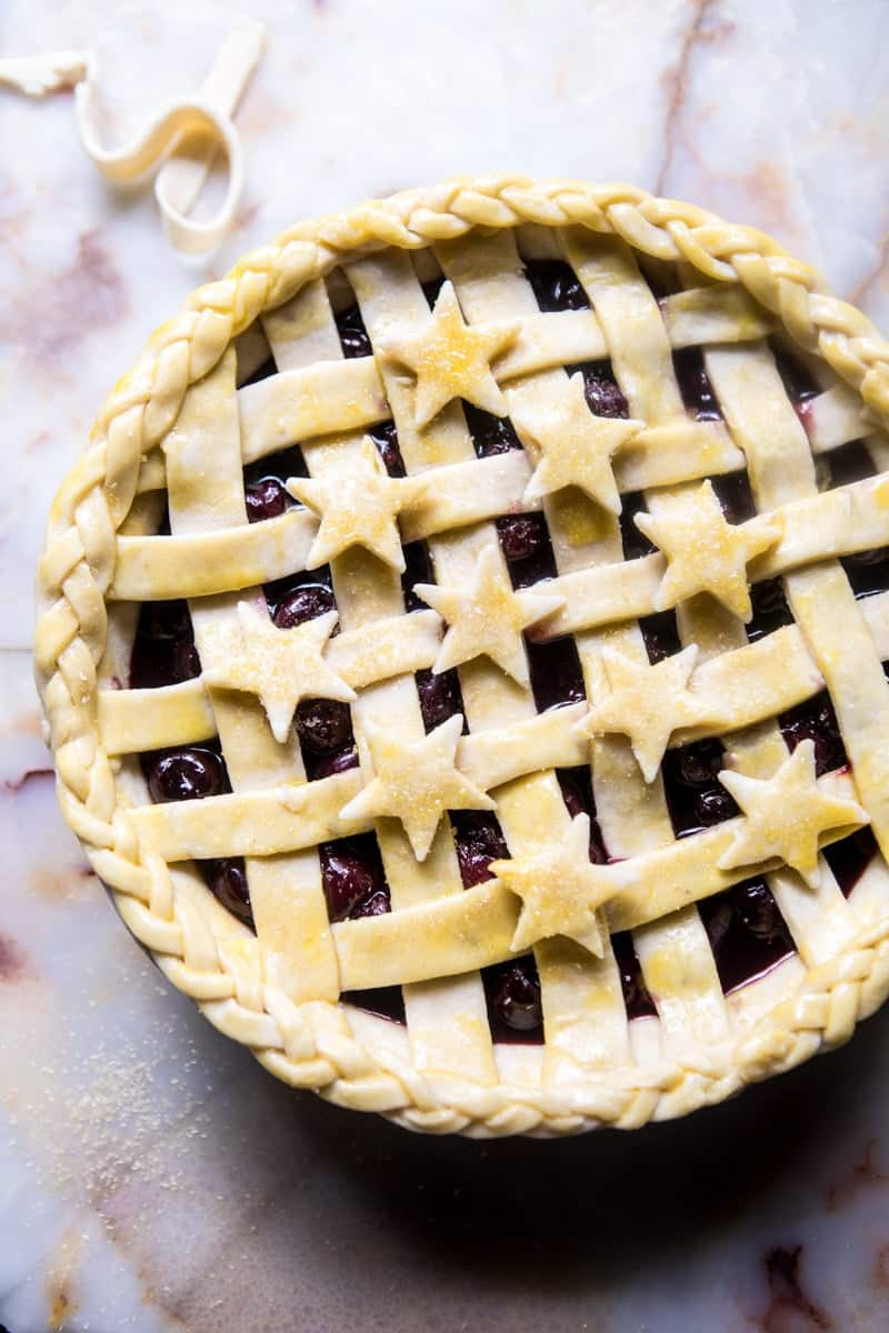Mulled Cherry Bomb Pie | halfbakedharvest.com @hbharvest
