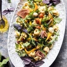 Italian Tortellini Pasta Salad.