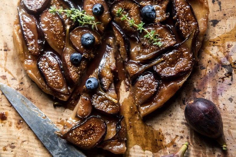 Maple Fig Tarte Tatin | halfbakedharvest.com @hbharvest