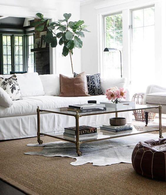 Living Room via @parkandoak