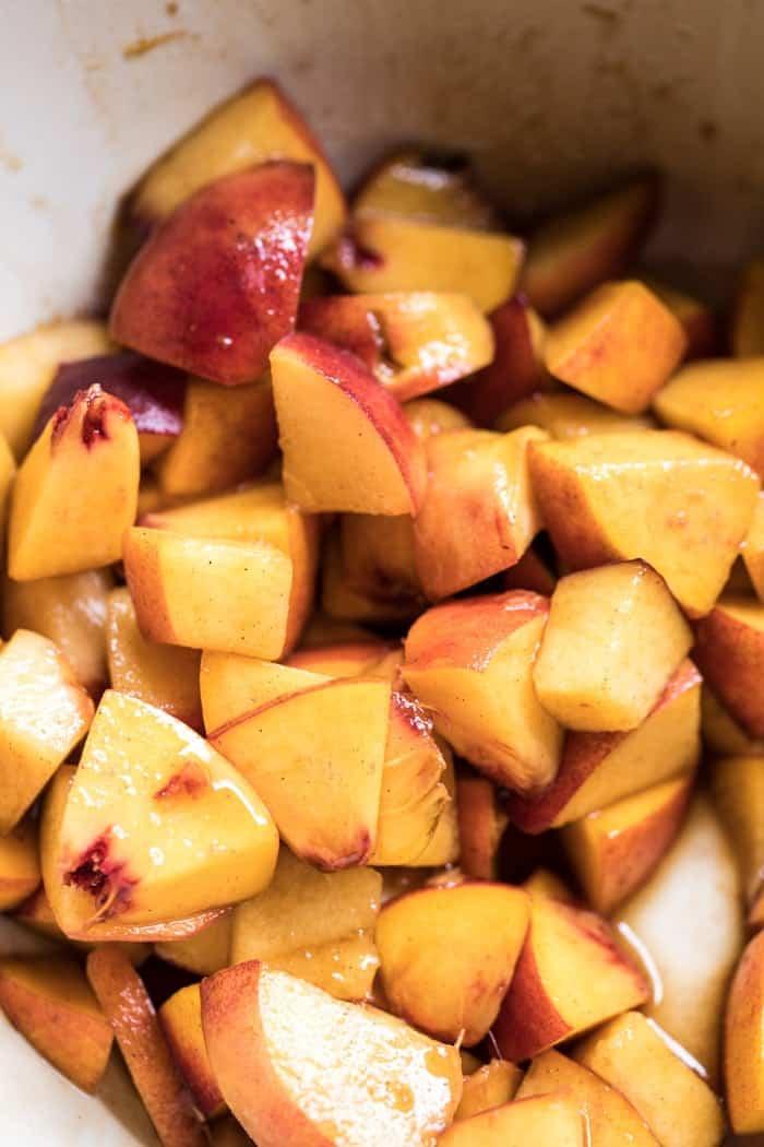 Brown Sugar Peach Puff Pastry Pop Tarts | halfbakedharvest.com @hbharvest