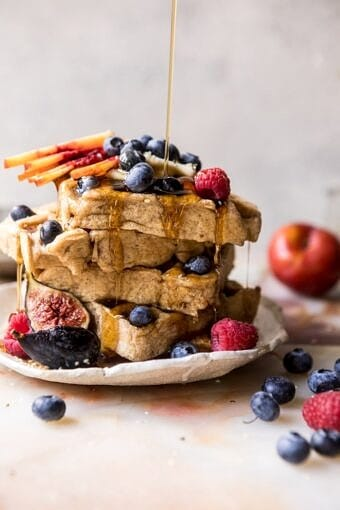 Freezer Friendly Whole Grain Waffles | halfbakedharvest.com @hbharvest