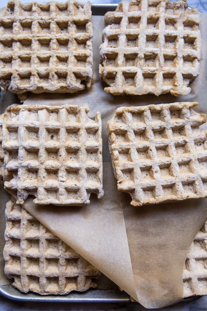 Freezer Friendly Whole Grain Waffles | halfbakedharvest.com @hbharvest