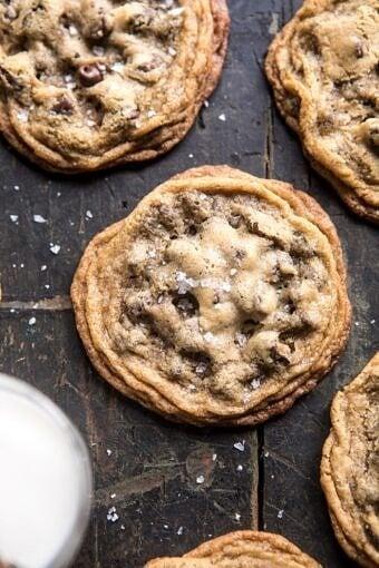 Giant Chocolate Chip Cookies | halfbakedharvest.com @hbharvest