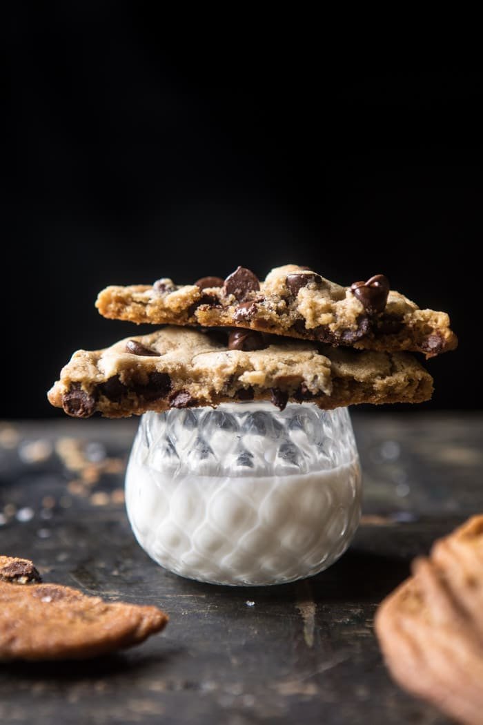 Giant Chocolate Chip Cookies | halfbakedharvest.com @hbharvest