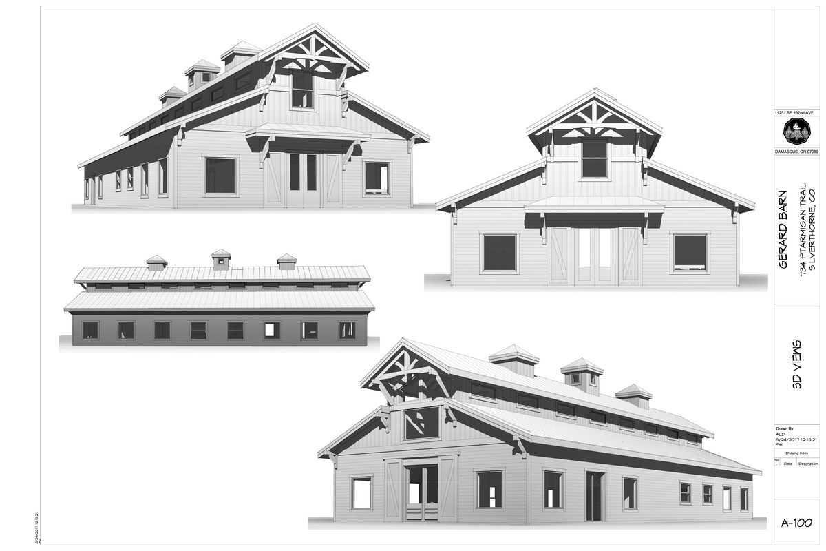 HBH Studio Barn Exterior