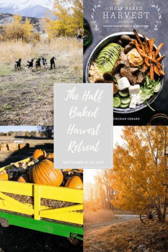 Half Baked Harvest Cookbook: Colorado Retreat Giveaway! halfbakedharvest.com @hbharvest