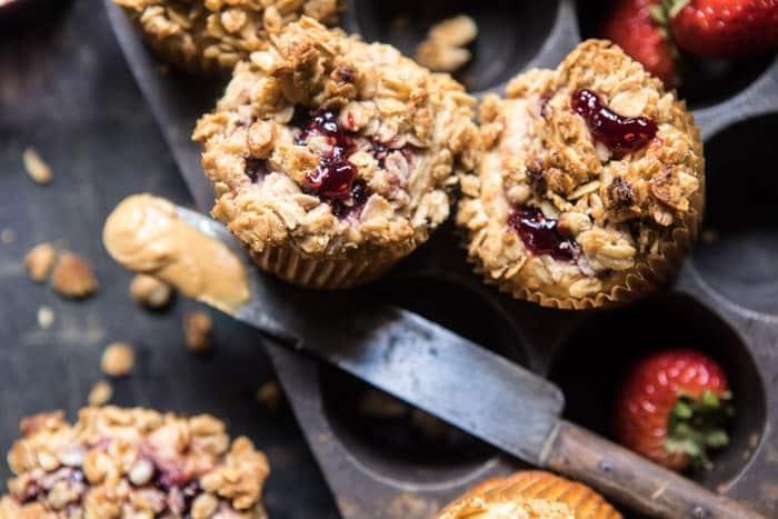 PB&J Oat Streusel Muffins | halfbakedharvest.com @hbharvest