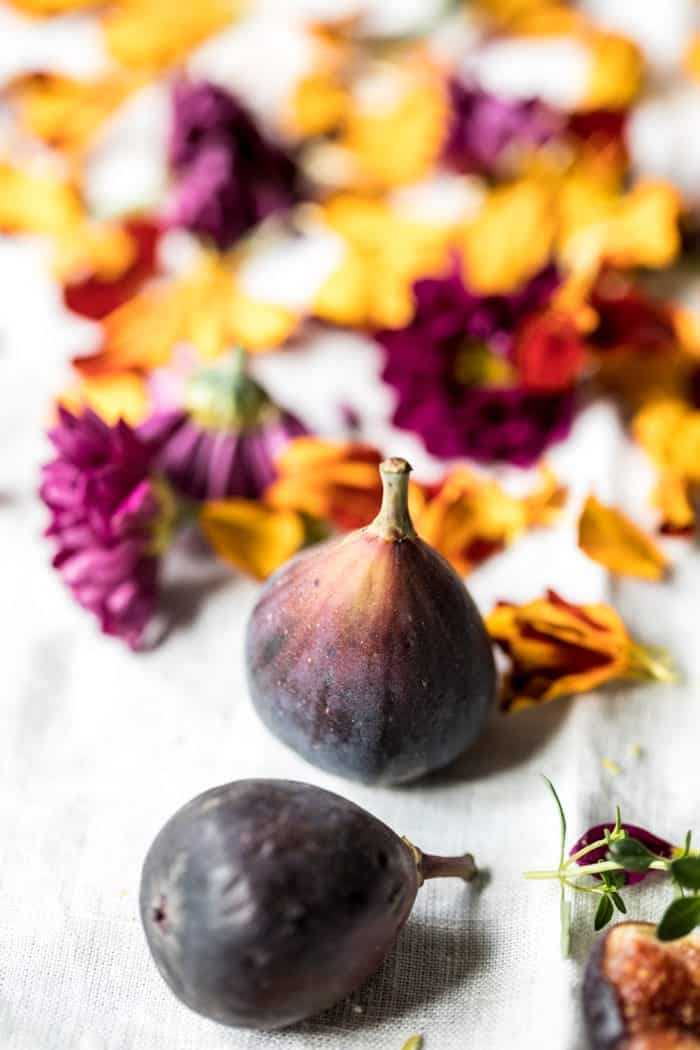 Fig Honey Thyme Prosecco Smash | halfbakedharvest.com @hbharvest