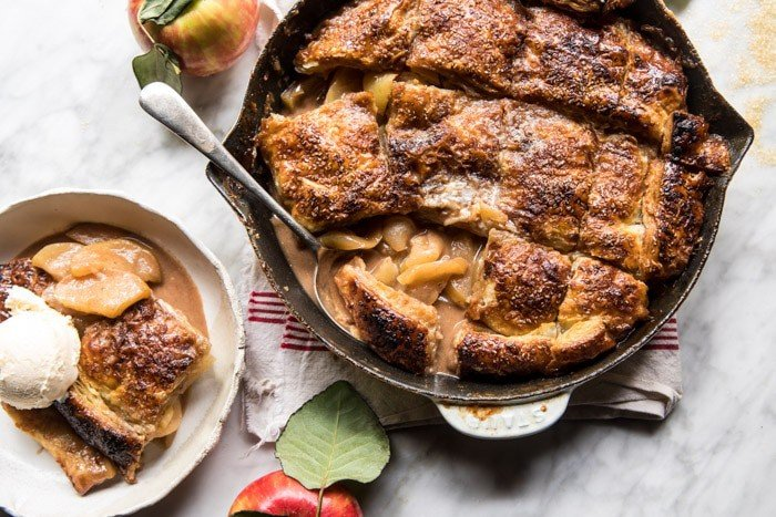 Honeycrisp Apple Pandowdy | halfbakedharvest.com @hbharvest