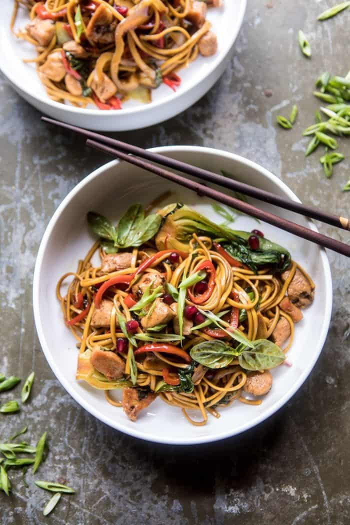 Sweet and Sticky Vegetable Stir Fry | halfbakedharvest.com @hbharvest