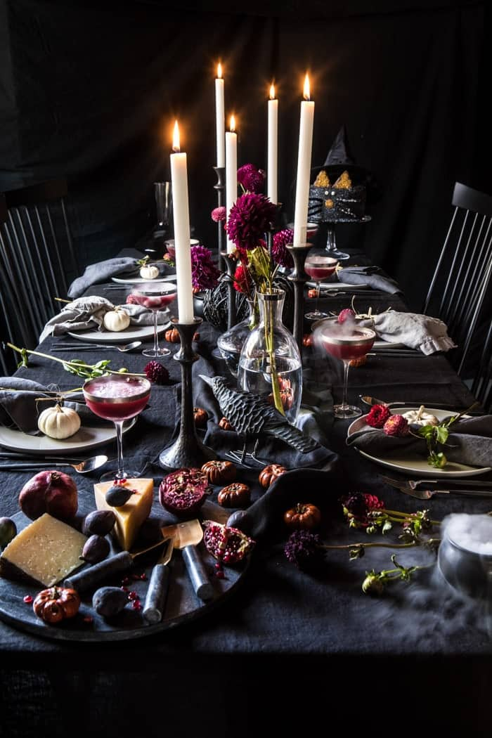 How to Host a Bewitching Halloween Party | halfbakedharvest.com @hbharvest