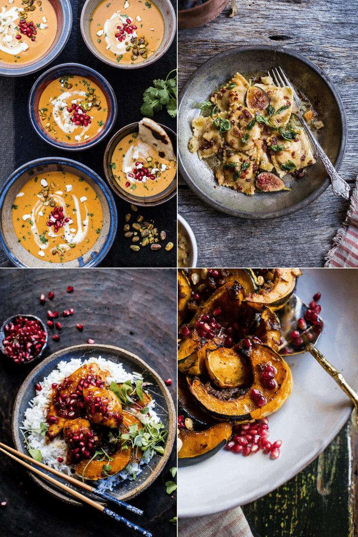 4 of my favorite autumn squash recipes | halfbakedharvest.com @hbharvest