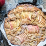 Cardamom Cognac Apple Cake.