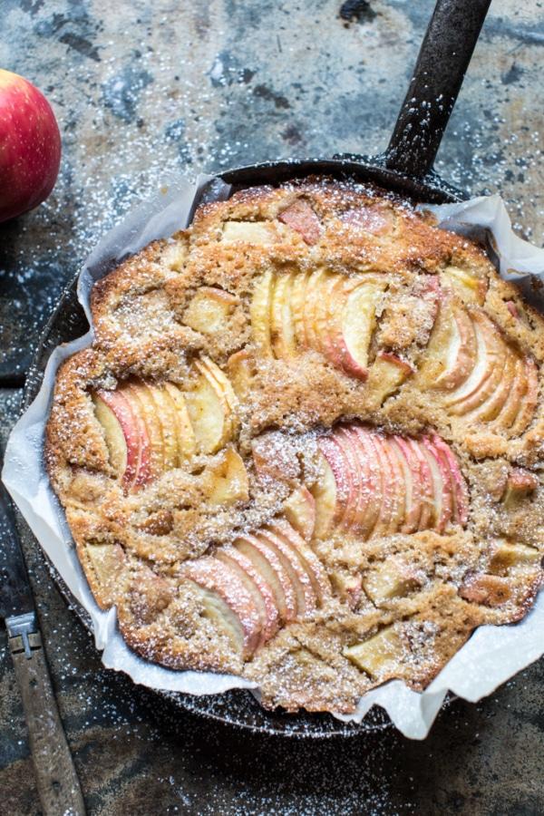 Cardamom Cognac Apple Cake.
