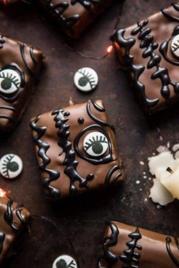 Hocus Pocus Spellbook Brownies.