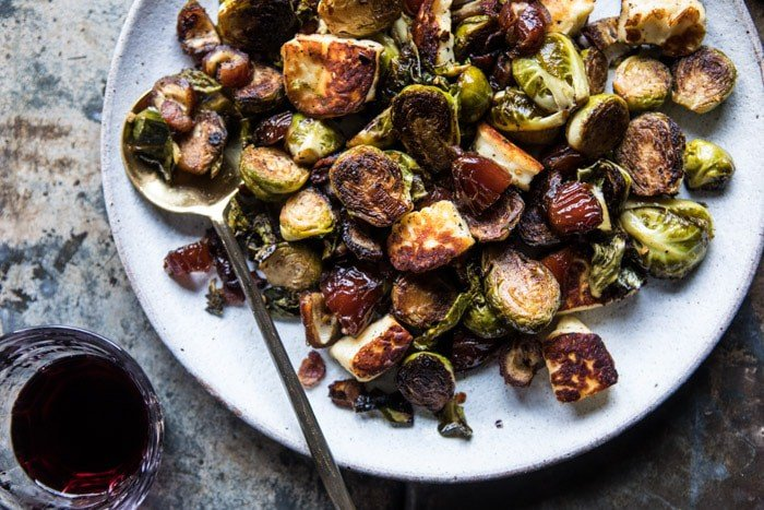 Pan Roasted Brussels Sprouts with Bacon, Dates and ...