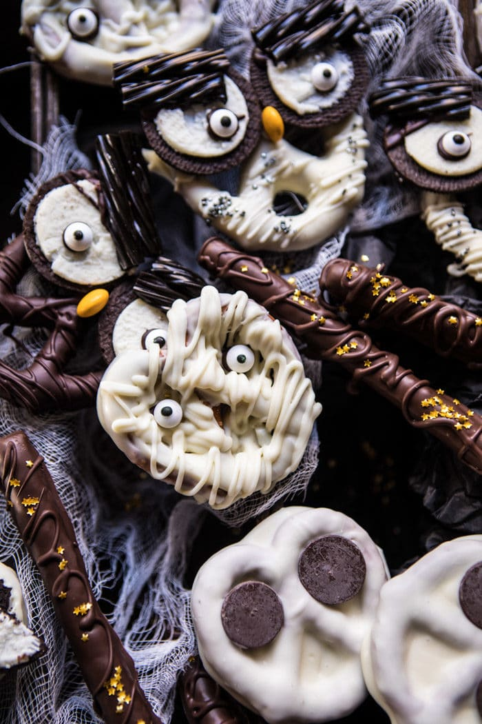 Spooky Halloween Pretzels | halfbakedharvest.com @hbharvest
