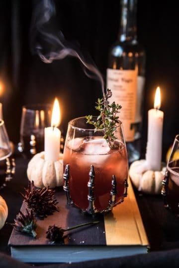 The Deathly Hallows Cocktail | halfbakedharvest.com @hbharvest