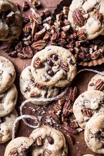 Browned Butter Pecan Chocolate Chip Cookies | halfbakedharvest.com @hbharvest