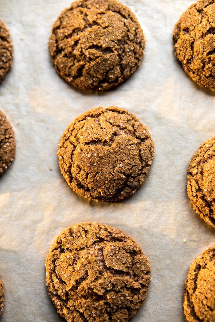 Chewy Chocolate Ginger Molasses Cookies | halfbakedharvest.com @hbharvest