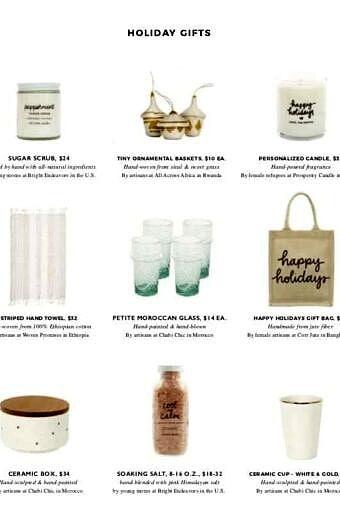 The Little Market Christmas Gift Guide | halfbakedharvest.com @hbharvest