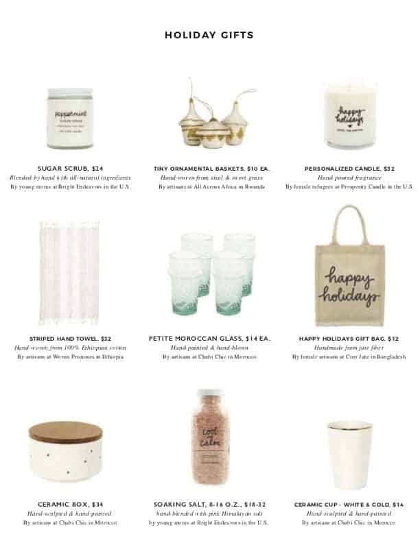 The Little Market Christmas Gift Guide | halfbakedharvest.com @hbharvest
