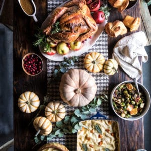My 2017 Thanksgiving Menu and Guide | halfbakedharvest.com @hbharvest