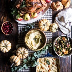 My 2017 Thanksgiving Menu and Guide.