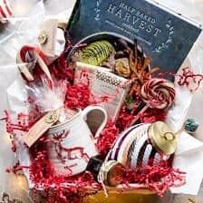 Santa's Hot Chocolate Cookbook Gift Box.