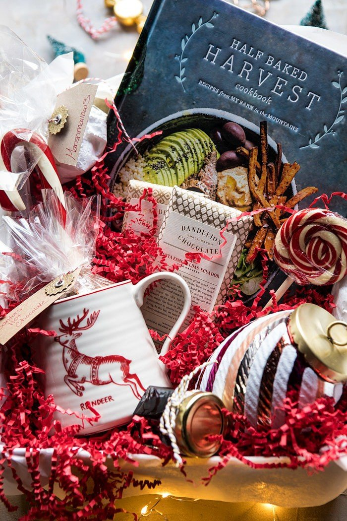 Santa's Hot Chocolate Cookbook Gift Box | halfbakedharvest.com @hbharvest