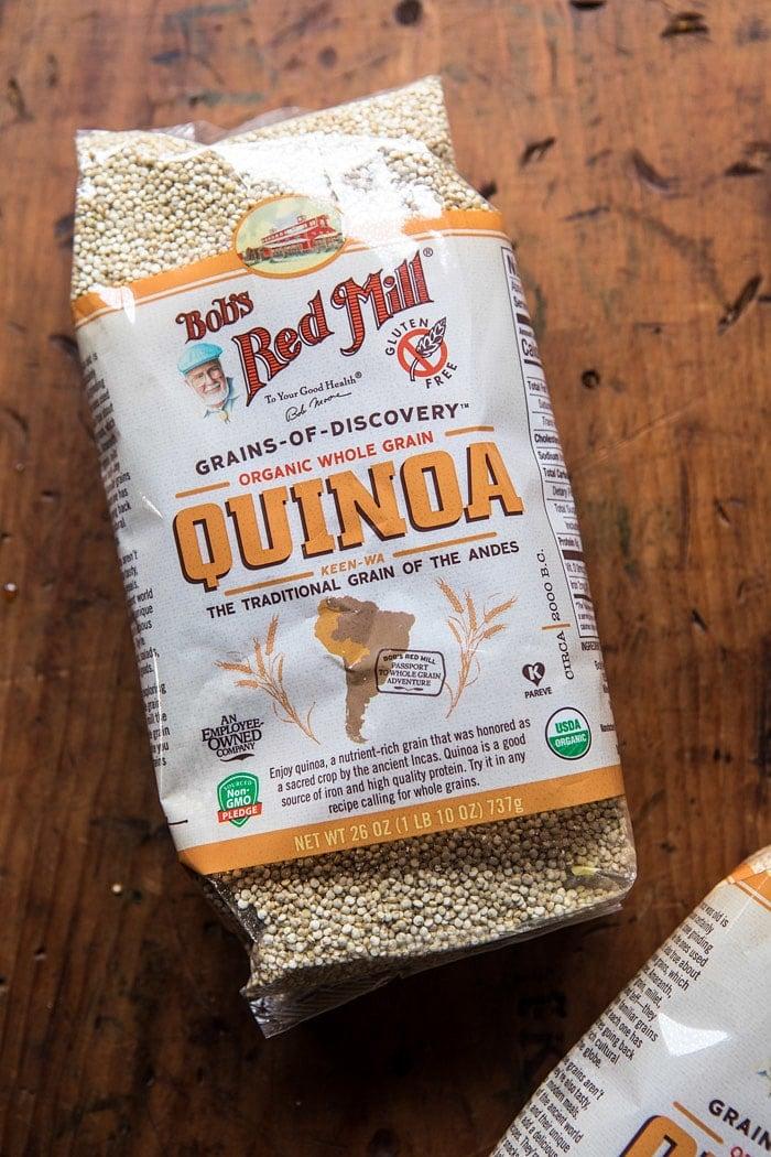 Spicy Poblano, Black Bean, and Quinoa Enchiladas | halfbakedharvest.com @hbharvest