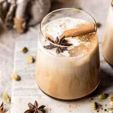 Vanilla Chai Tea White Russian.