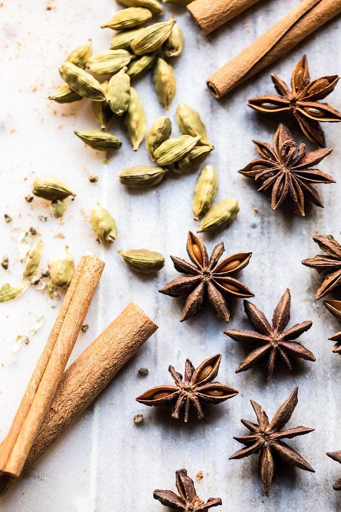 Vanilla Chai Tea White Russian | halfbakedharvest.com @hbharvest