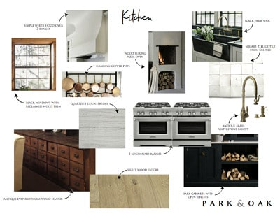 The HBH Studio Barn: Kitchen and Downstairs Bath Plans.