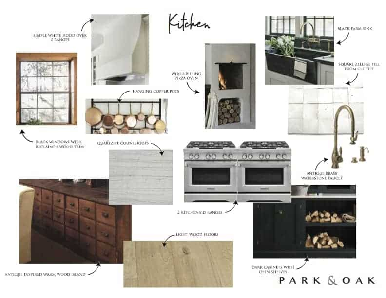 The HBH Studio Barn: Kitchen And Downstairs Bath Plans.   Half Baked Harvest