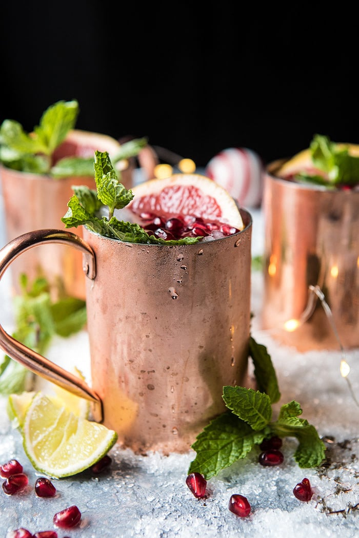 Frosty's Frosted Moscow Mule | halfbakedharvest.com @hbharvest