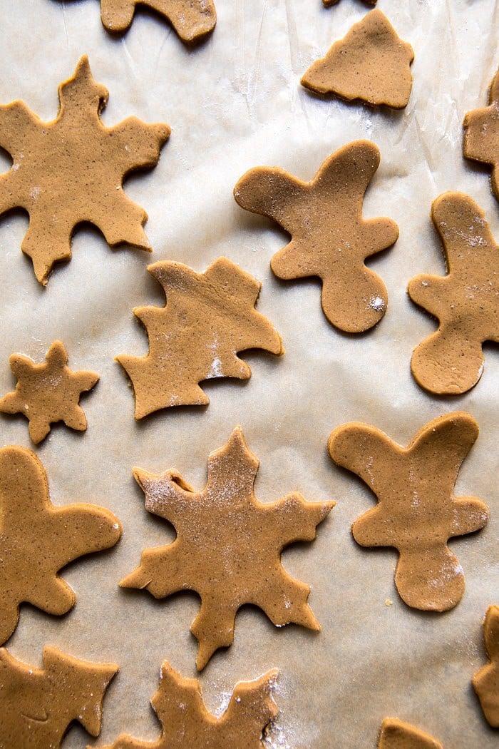 Gingerbread Snowglobe Place Setting | halfbakedharvest.com @hbharvest