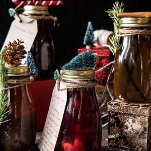 Holiday Gifting: Homemade Simple Syrups.