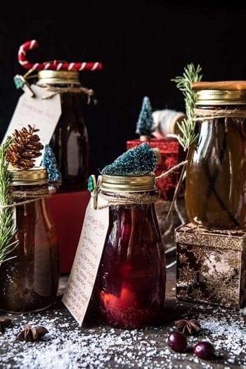 Holiday Gifting: Homemade Simple Syrups.