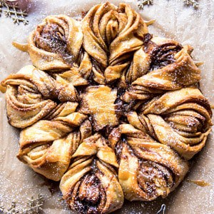 Snowflake Pull-Apart Monkey Bread.