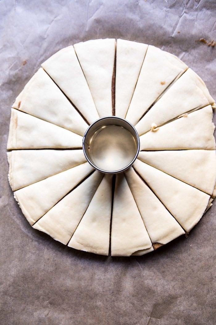 Snowflake Pull-Apart Monkey Bread | halfbakedharvest.com @hbharvest